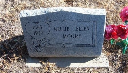 MOORE, NELLIE ELLEN - Bent County, Colorado   NELLIE ELLEN MOORE - Colorado Gravestone Photos