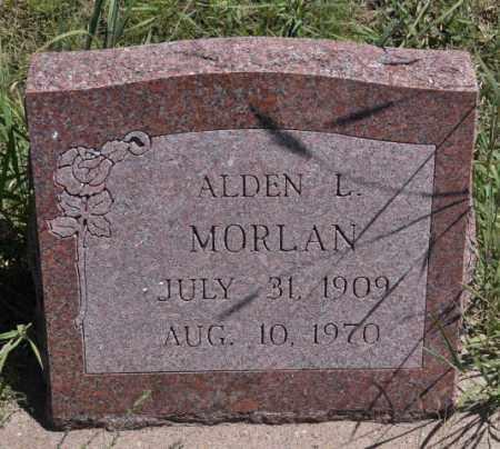 MORLAN, ALDEN L - Bent County, Colorado   ALDEN L MORLAN - Colorado Gravestone Photos