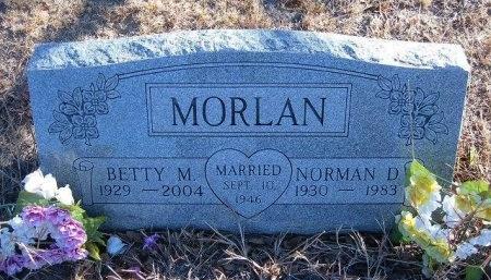 MORLAN, BETTY M - Bent County, Colorado | BETTY M MORLAN - Colorado Gravestone Photos