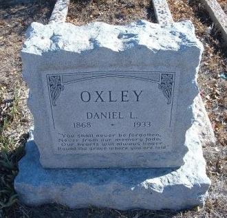 OXLEY, DANIEL L - Bent County, Colorado   DANIEL L OXLEY - Colorado Gravestone Photos