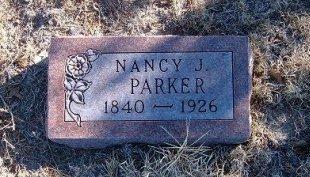 PARKER, NANCY J - Bent County, Colorado | NANCY J PARKER - Colorado Gravestone Photos