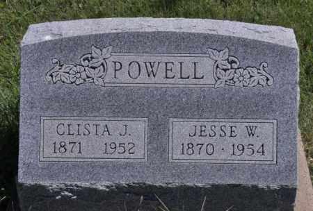 POWELL, CLISTA J - Bent County, Colorado | CLISTA J POWELL - Colorado Gravestone Photos