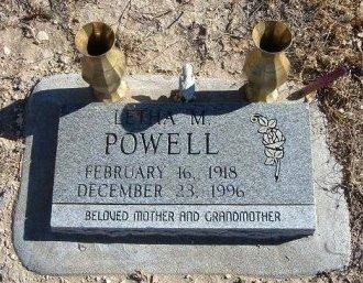 POWELL, LETHA M - Bent County, Colorado   LETHA M POWELL - Colorado Gravestone Photos