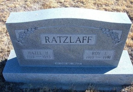RATZLAFF, ROY I - Bent County, Colorado | ROY I RATZLAFF - Colorado Gravestone Photos