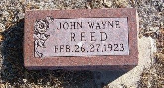 REED, JOHN WAYNE - Bent County, Colorado | JOHN WAYNE REED - Colorado Gravestone Photos