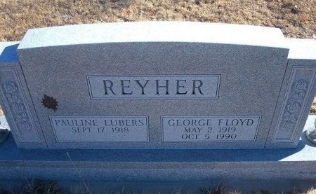 REYHER, GEORGE FLOYD - Bent County, Colorado | GEORGE FLOYD REYHER - Colorado Gravestone Photos