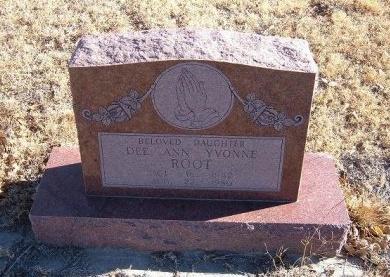 ROOT, DEE ANN YVONNE - Bent County, Colorado | DEE ANN YVONNE ROOT - Colorado Gravestone Photos
