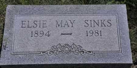 SINKS, ELSIE MAY - Bent County, Colorado | ELSIE MAY SINKS - Colorado Gravestone Photos