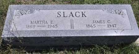 SLACK, JAMES C - Bent County, Colorado | JAMES C SLACK - Colorado Gravestone Photos