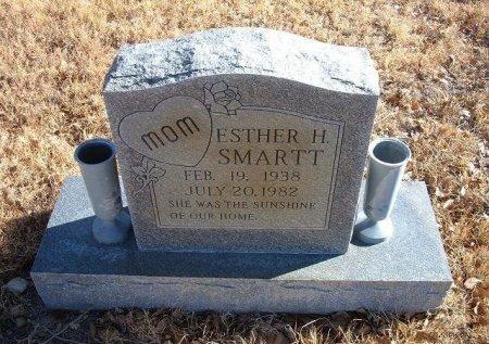 SMARTT, ESTHER H - Bent County, Colorado   ESTHER H SMARTT - Colorado Gravestone Photos