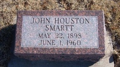SMARTT, JOHN HOUSTON  - Bent County, Colorado | JOHN HOUSTON  SMARTT - Colorado Gravestone Photos