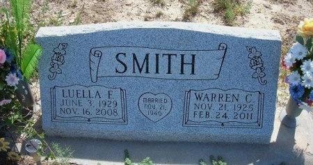 MYERS SMITH, LUELLA FERN  - Bent County, Colorado | LUELLA FERN  MYERS SMITH - Colorado Gravestone Photos