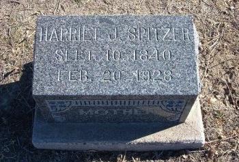 RADER SPITZER, HARRIET J - Bent County, Colorado | HARRIET J RADER SPITZER - Colorado Gravestone Photos