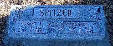 SPITZER, MARGARET W - Bent County, Colorado | MARGARET W SPITZER - Colorado Gravestone Photos