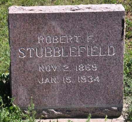 STUBBLEFIELD, ROBERT F - Bent County, Colorado   ROBERT F STUBBLEFIELD - Colorado Gravestone Photos