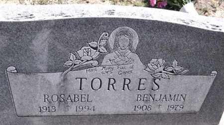 TORRES, ROSABEL - Bent County, Colorado | ROSABEL TORRES - Colorado Gravestone Photos