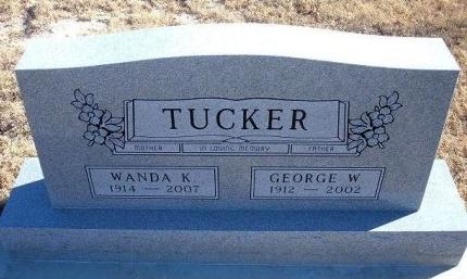 TUCKER, WANDA - Bent County, Colorado | WANDA TUCKER - Colorado Gravestone Photos