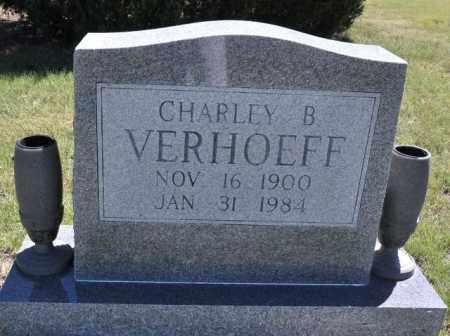 VERHOEFF, CHARLEY B - Bent County, Colorado   CHARLEY B VERHOEFF - Colorado Gravestone Photos