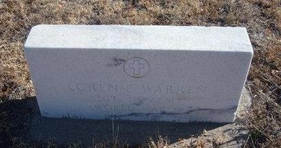 WARREN (VETERAN WWII), LOREN E - Bent County, Colorado   LOREN E WARREN (VETERAN WWII) - Colorado Gravestone Photos