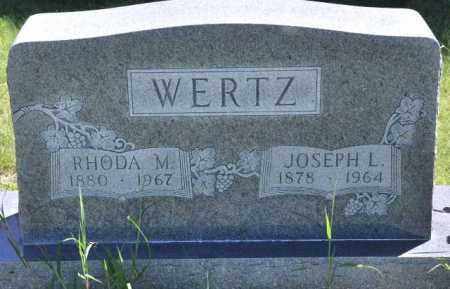 WERTZ, RHODA M - Bent County, Colorado | RHODA M WERTZ - Colorado Gravestone Photos