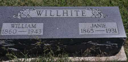 WILLHITE, WILLIAM - Bent County, Colorado | WILLIAM WILLHITE - Colorado Gravestone Photos