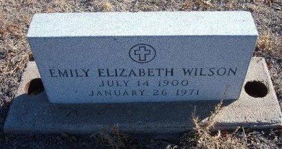 WILSON, EMILY ELIZABETH - Bent County, Colorado | EMILY ELIZABETH WILSON - Colorado Gravestone Photos