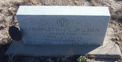 WILSON (VETERAN WWII), LIVINGSTON L - Bent County, Colorado | LIVINGSTON L WILSON (VETERAN WWII) - Colorado Gravestone Photos