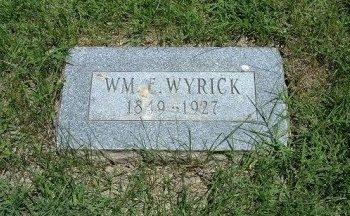 WYRICK, WILLIAM ESSAU - Bent County, Colorado | WILLIAM ESSAU WYRICK - Colorado Gravestone Photos