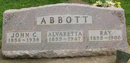 ABBOTT, JOHN C. - Boulder County, Colorado | JOHN C. ABBOTT - Colorado Gravestone Photos