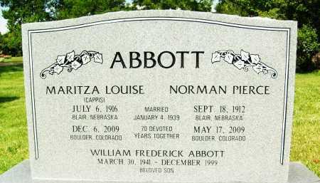 ABBOTT, NORMAN PIERCE - Boulder County, Colorado | NORMAN PIERCE ABBOTT - Colorado Gravestone Photos
