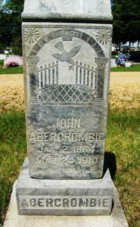 ABERCROMBIE, JOHN - Boulder County, Colorado | JOHN ABERCROMBIE - Colorado Gravestone Photos