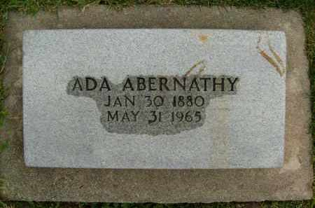 ABERNATHY, ADA - Boulder County, Colorado | ADA ABERNATHY - Colorado Gravestone Photos
