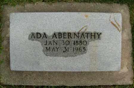ABERNATHY, ADA - Boulder County, Colorado   ADA ABERNATHY - Colorado Gravestone Photos