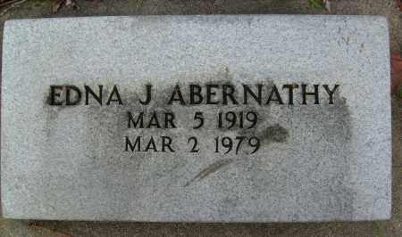 ABERNATHY, EDNA J. - Boulder County, Colorado | EDNA J. ABERNATHY - Colorado Gravestone Photos