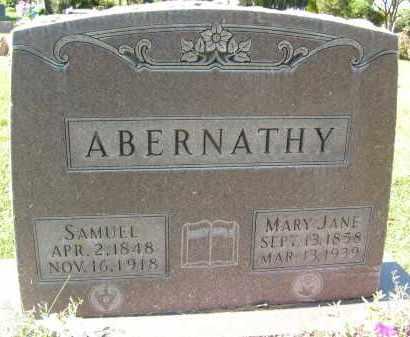 ABERNATHY, SAMUEL - Boulder County, Colorado   SAMUEL ABERNATHY - Colorado Gravestone Photos