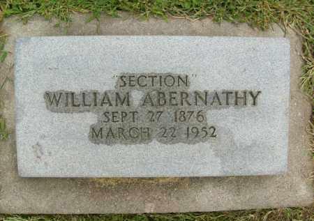 ABERNATHY, WILLIAM - Boulder County, Colorado | WILLIAM ABERNATHY - Colorado Gravestone Photos