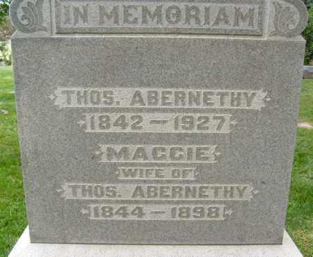 ABERNETHY, MAGGIE - Boulder County, Colorado | MAGGIE ABERNETHY - Colorado Gravestone Photos