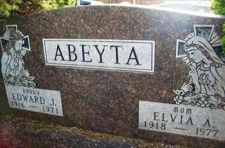ABEYTA, ELVIA A. - Boulder County, Colorado | ELVIA A. ABEYTA - Colorado Gravestone Photos