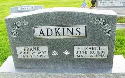ADKINS, FRANK - Boulder County, Colorado | FRANK ADKINS - Colorado Gravestone Photos