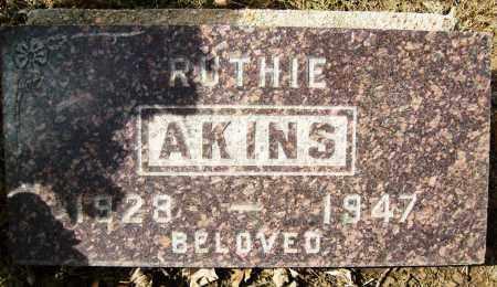 AKINS, RUTHIE - Boulder County, Colorado | RUTHIE AKINS - Colorado Gravestone Photos