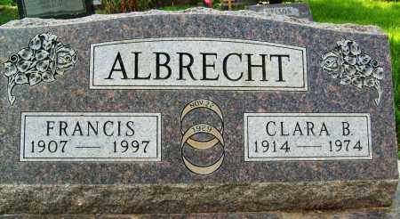 ALBRECHT, FRANCIS - Boulder County, Colorado | FRANCIS ALBRECHT - Colorado Gravestone Photos