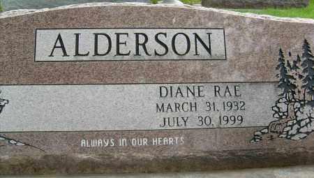 ALDERSON, DIANE RAE - Boulder County, Colorado | DIANE RAE ALDERSON - Colorado Gravestone Photos