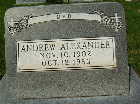 ALEXANDER, ANDREW - Boulder County, Colorado | ANDREW ALEXANDER - Colorado Gravestone Photos