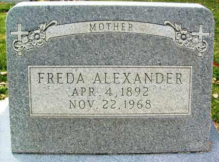 ALEXANDER, FREDA - Boulder County, Colorado | FREDA ALEXANDER - Colorado Gravestone Photos