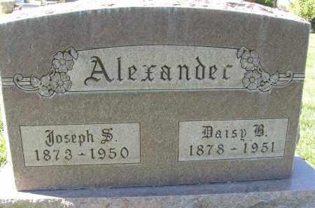 ALEXANDER, DAISY B. - Boulder County, Colorado | DAISY B. ALEXANDER - Colorado Gravestone Photos