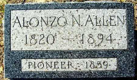 ALLEN, ALONZO N. - Boulder County, Colorado | ALONZO N. ALLEN - Colorado Gravestone Photos