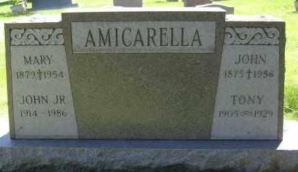 AMICARELLA, JOHN JR. - Boulder County, Colorado | JOHN JR. AMICARELLA - Colorado Gravestone Photos
