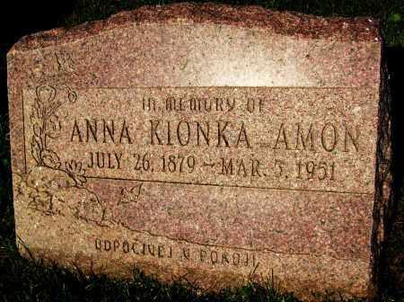 AMON, ANNA (KIONKA) - Boulder County, Colorado   ANNA (KIONKA) AMON - Colorado Gravestone Photos