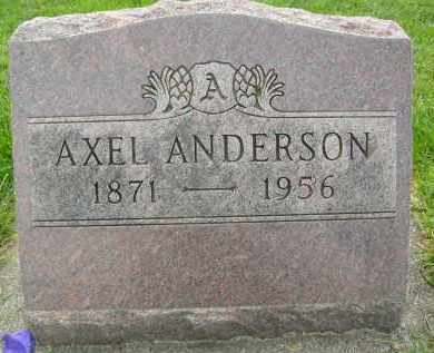ANDERSON, AXEL - Boulder County, Colorado | AXEL ANDERSON - Colorado Gravestone Photos