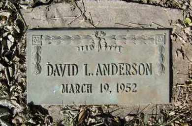 ANDERSON, DAVID L. - Boulder County, Colorado | DAVID L. ANDERSON - Colorado Gravestone Photos